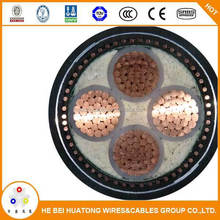 Manufacture 150mm2 Steel tape armoured xlpe insulated power cable with copper conductor