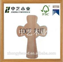 sin terminar cruces de madera al por mayor