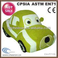 New products 2014 mini cooper stuffed plush car toy