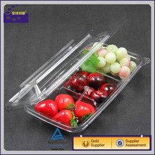 Ecofriendly Disposable Plastic Salad container with fork With Lid