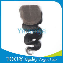 virgin brazilian hair lace top closure cheap price and high feed back