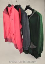 Ladies training Jacket cotton used clothing good quality