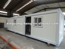 2015 Xgz design steel roof fireproof Mobile prefab container house, used as office, living room, dormitory and workshop