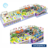 Multifunction JT-13601B children commercial indoor soft playground equipment for sale