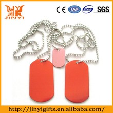 High quality anodized colorful aluminum dog tag delivery on time