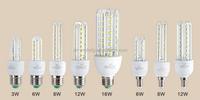 u shape led energy corn light
