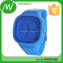 Hot-sale silicone quartz wrist watch clock wrist watch