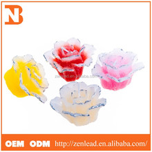 flower shape birthday tealight candle