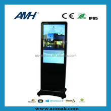 Fashionable design hot selling 2015 All-In-One PC multi Touch Monitor Computer Floor Stand