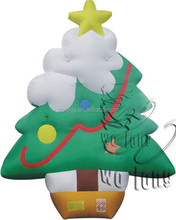 hot sale green commercial advertising inflatable tree for decoration, advertising inflatables for sale