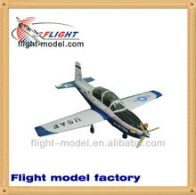 "Wholesale wood plane F170 T-6A Texan 78.7"" 2012 new arrival Rc plane"