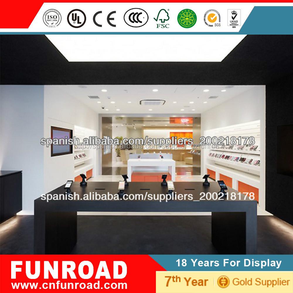 Dise o para la decoracion de su tienda interior mdf for Catalogo de muebles de madera mdf