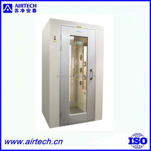 SAT150405-10 AAS-802AR DC Motor Manual Air Shower for Cleanroom