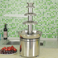 New design chocolate fountain recipe with CE certificate