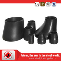 carbon steel butt welded concentric reducer