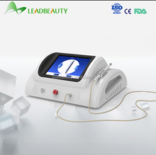Continuous and Pulsed Two Modes Spider Vein Laser Treatment with 0.01 mm Needle
