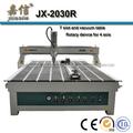 JX-2030R 4 ejes de la máquina cnc router para trabajar la madera