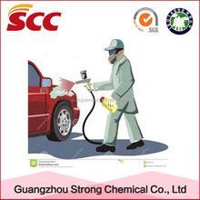Car refinishing paint usage 2K Arcylic hardener