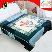 polyester double ply queen size Acrylic mink blanket