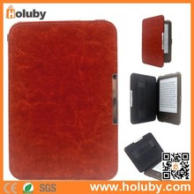 Case for Tolino Shine eBook, Folio PU Leather Case for Tolino Shine eBook