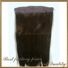 hot sale hair extension products halo hair extensions ponytail