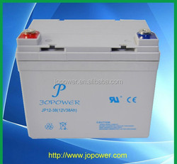 Gel AGM battery 12v 38ah ,high rate capacity
