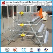 galvanized welded wire chicken cage/breeding hen cage