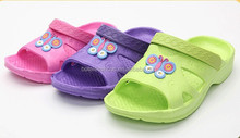 2015 new fashion casual summers latest design kids cute slippers eva injection