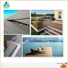 Modern house plans wood and pvc floor , wpc composite decking