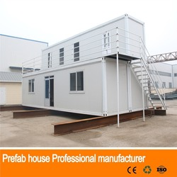nice designed frame panel prefab cabin container house sell in africa