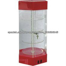 Red vitrina de acrílico con 4 niveles