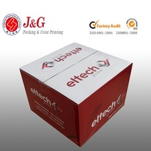 Custom printed corrugated carton box