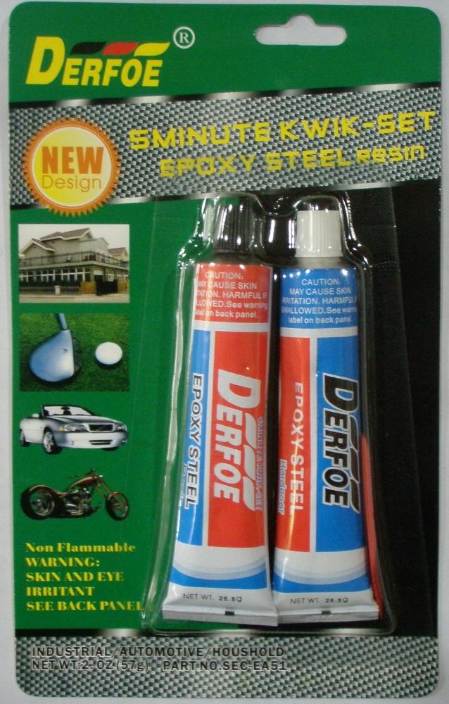 Steel Epoxy Adhesive Epoxy Clear Syrings Adhesive