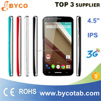 touch android phone/bulk China mobile phone/cheap 4.5 inch smart mobile