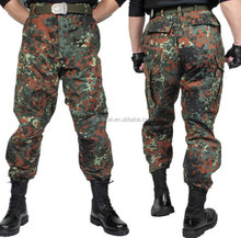 2015 popular camouflage good quality and cheap men long military pants
