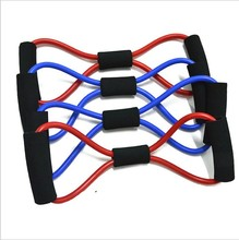 8 letters Rally woman chest rubber pull rope family outdoor gym strength training fitness equipment sporting goods