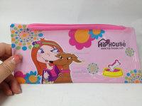 convenience waterproof cheap zipper PVC pencil case for teenagers
