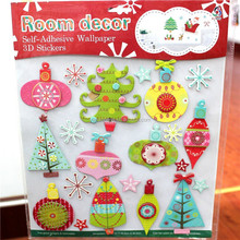Self-adhesive wallpaper paper cardboard 3d stickers for kids room decoration,cartoon sticker ,5d cute sticker