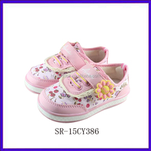 SR-15CY386 new kids sports shoes china girls sports shoes 2012 fashion flat children sports shoes