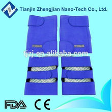 Good quality self heating nano tech tourmaline heated knee warmer