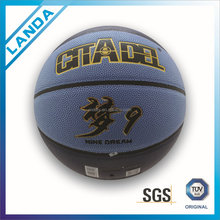 On sale, high quality hotselling PU PVC rubber outdoor basketballs