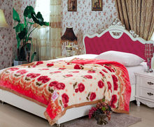 cozy acrylic mink blanket in china for sale cheap price