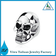 Punk style newest men's skull ring