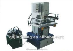 TJ-57 pvc packaging bags hot foil stamping machine gilding press