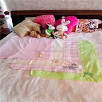 Custom-printed 100% polyester Micro polar fleece soft and warm baby blanket