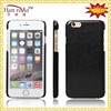 5 color 5.5 inch leather back cover for iPhone 6 wholesale cell phone case