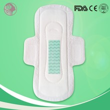 OEM country certified healing and prophylactic effect herbal sanitary pads