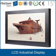 """Flintstone 15"""" inch lcd cctv sruveillance security monitor for business commercial use"""