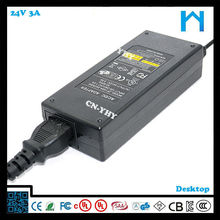 ac to dc adapter 24v 3a desk nature use input 110v