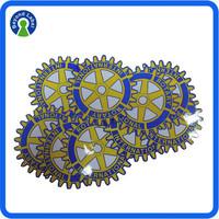 Adhesive Vinyl Reusable Sticker, Custom Clear Printing Static Cling Sticker